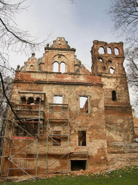 Latach 1752 – 1841 z inicjatywy rodziny eichendorffów założony